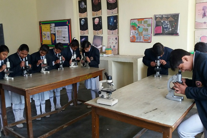 D H Lawrence Senior Secondary School- Biology lab