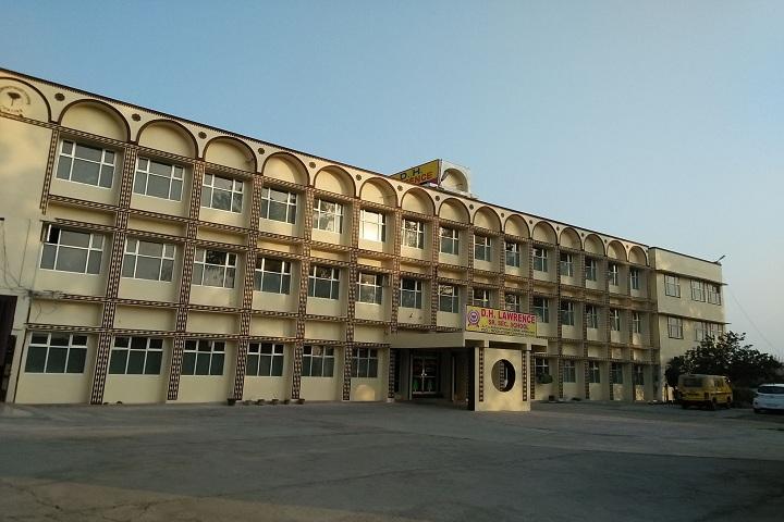 D H Lawrence Senior Secondary School- School Campus