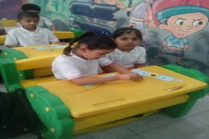 Delhi Public School-Rakhi Making
