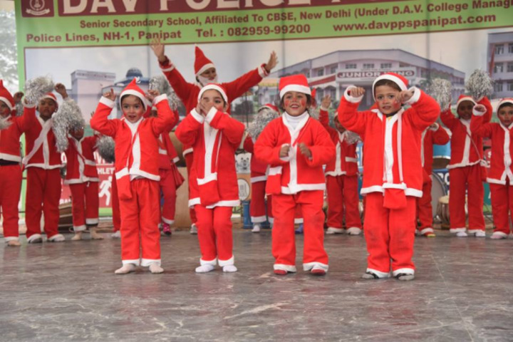DAV Police Public School-Christmas Celebration