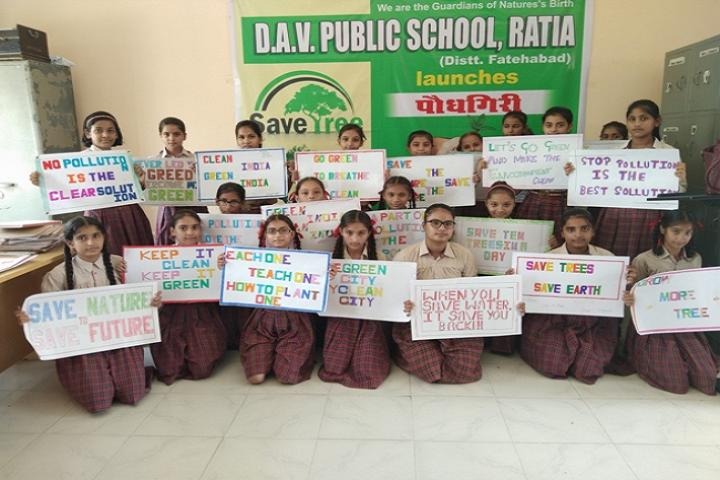 DAV Public School-Activities