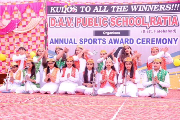 DAV Public School-Ceremonay