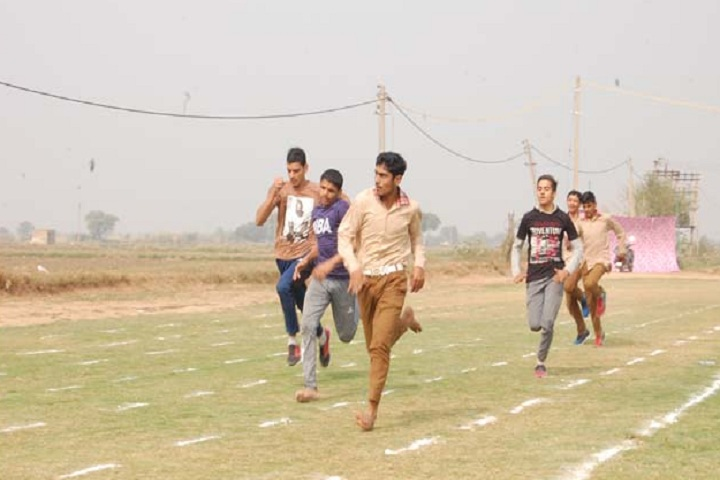 D R A Senior Secondary School-Running