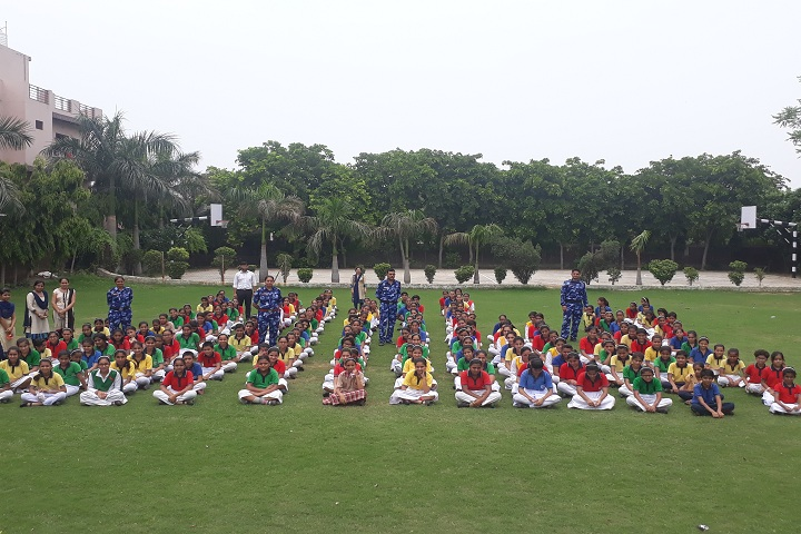 D R A Senior Secondary School-Yoga