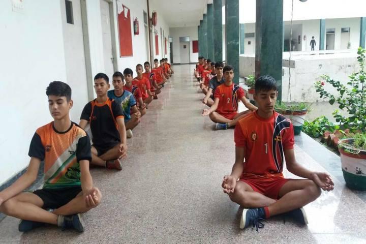Dalamwala Public School-Yoga