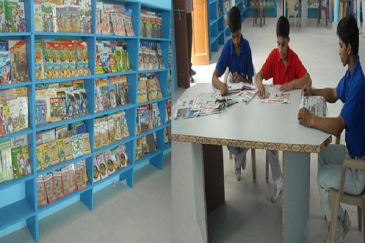 Datta Public School-Library