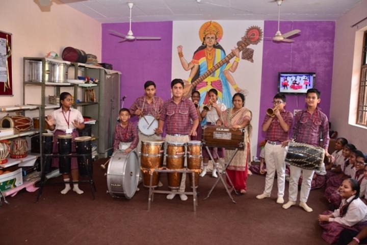 Dav Centenary Public School-Music Activity