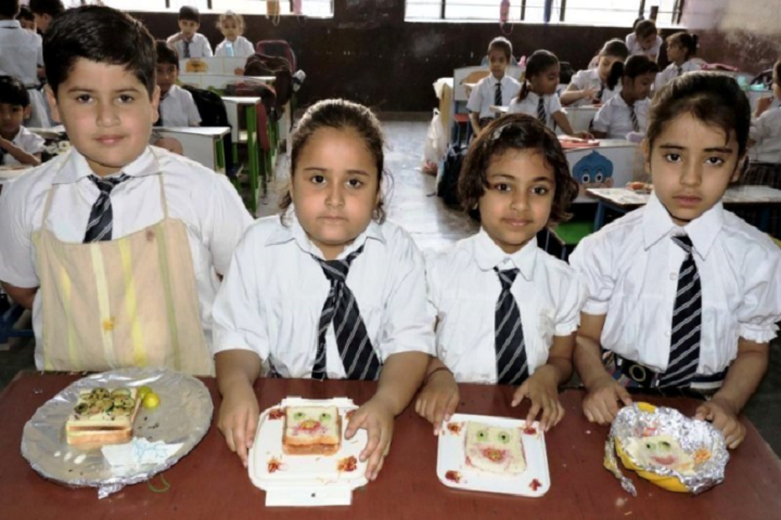 Dav Centenary Public School Sirsa-Cooking Competitions