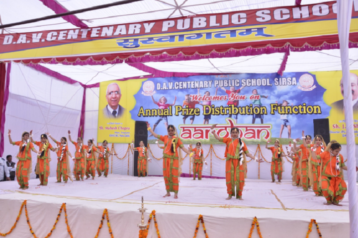 Dav Centenary Public School Sirsa-Group Dances
