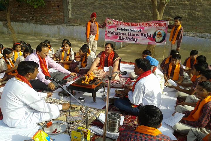 Dav Centenary Public School Sirsa-Pooja