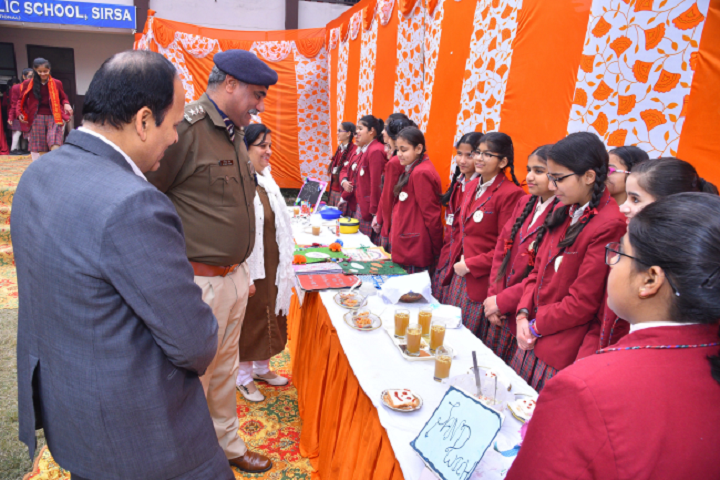 Dav Centenary Public School Sirsa-Science Exhibitions
