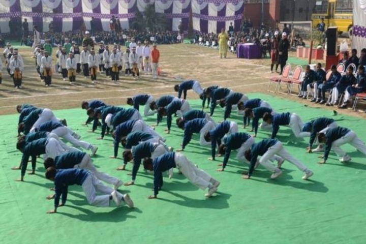 DAV Centernary Public School-Yoga Activity