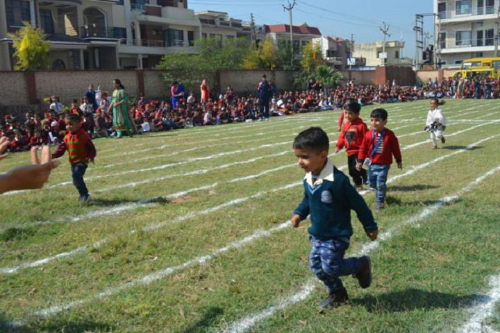 DAV Centernary Public School-Running Race Competition