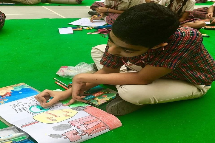 Dav Police Public School-Drawing Competition