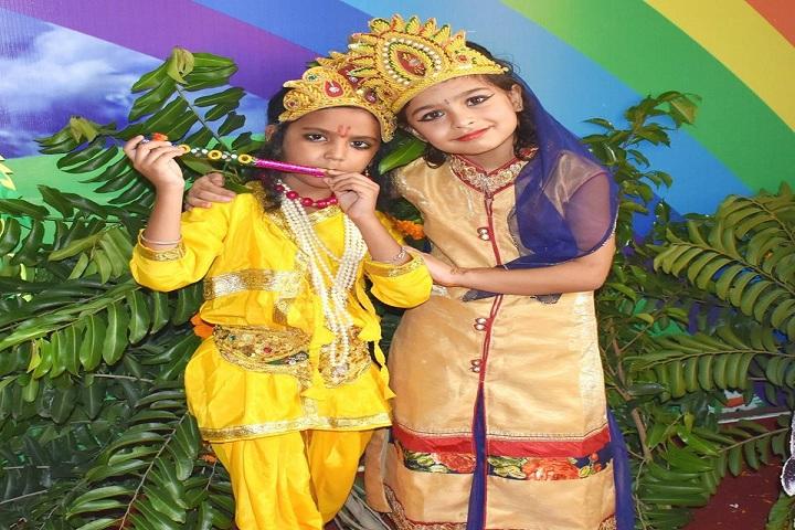 Dav Police Public School-Janmasthami Celebrations