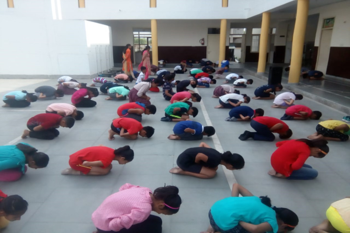 Dav Police Public School-Yoga