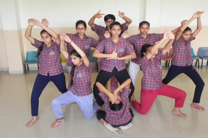 Dav Police Public School-Dance Room