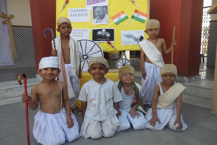 Dav Police Public School-Gandhi jayanthi