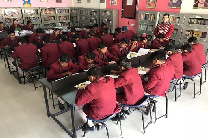 Dav Police Public School-Library