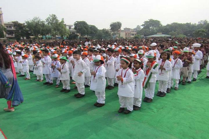 Dav Public School-Independence day celebrations2