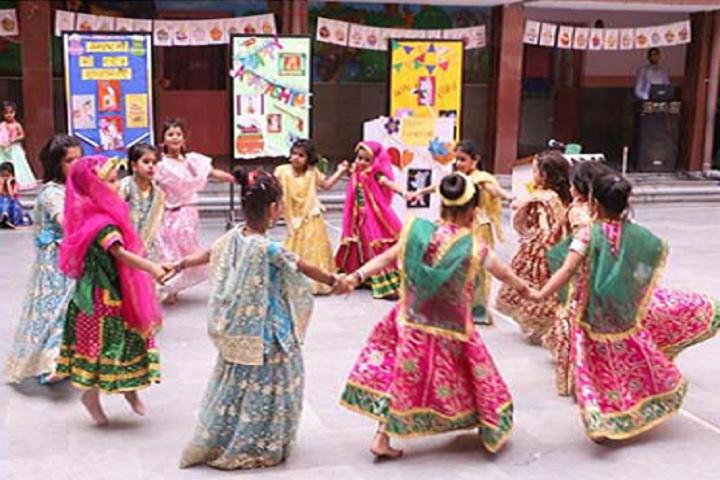 Dav Public School-Janmaastami Celebrations