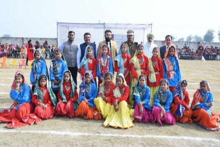 Dav Public School-Dance Team