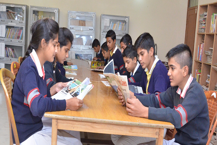 Dawn Nilayam Public School-Library