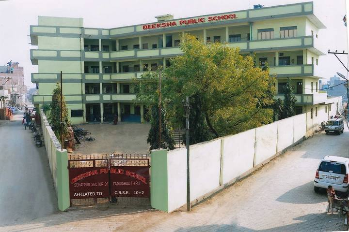 Deeksha Public School-Campus View