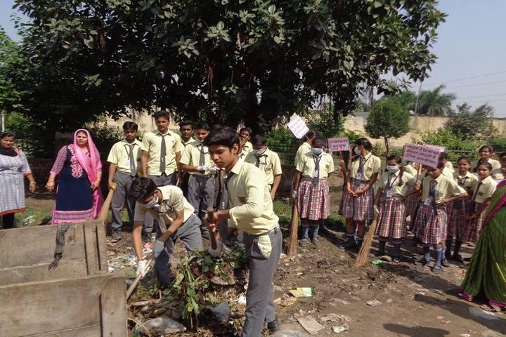 Deeksha Public School-Swatch Bharath