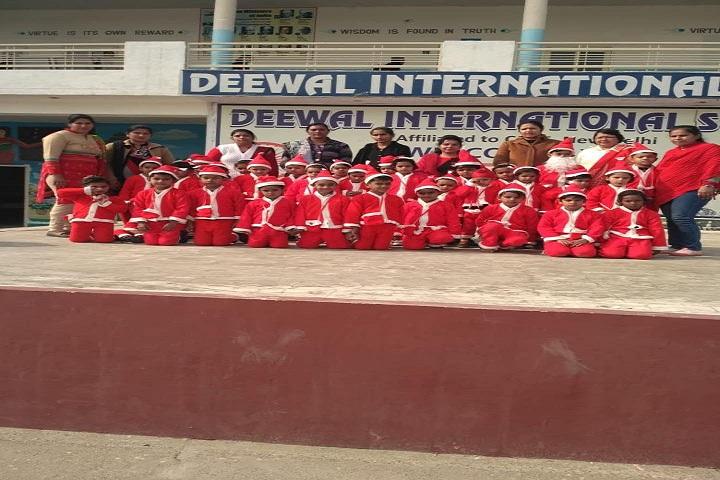 Deewal International School-Events christmas