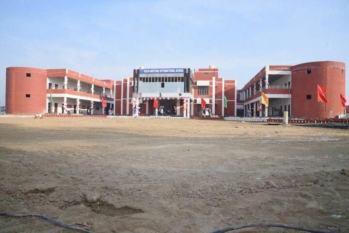 Delhi Heritage International School-Campus View
