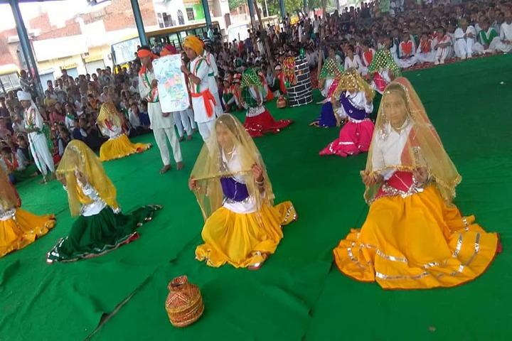 Delhi Heritage International School-Dance Performance