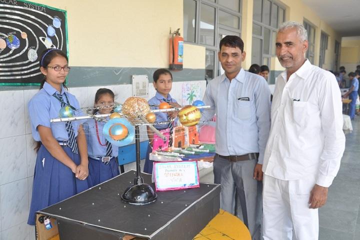 Delhi International Public School-Science exhibition