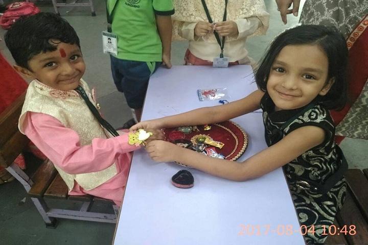 Delhi Public School-Rakshabhandan