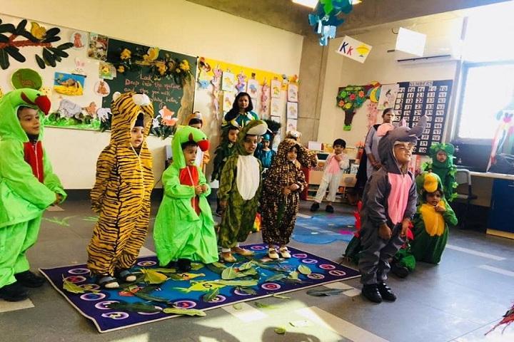 Delhi Public School-Jungle Activity