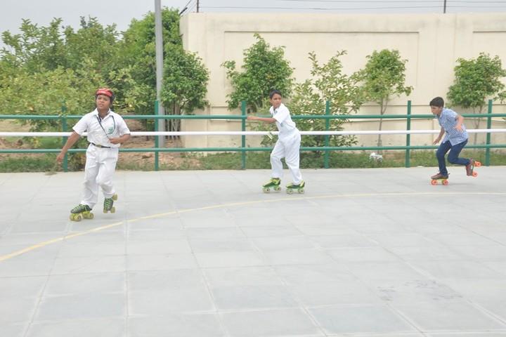 Delhi Public School-Skating