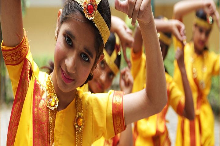 Delhi Public School Ambala-Classical Dance