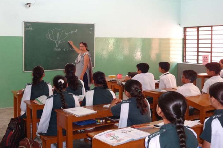Dev Samaj Vidya Niketan-Classroom