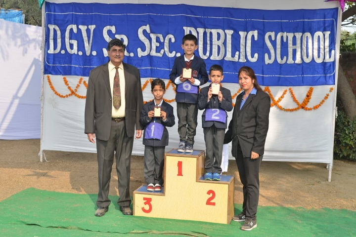 DGV Public School-Annual Sports Day