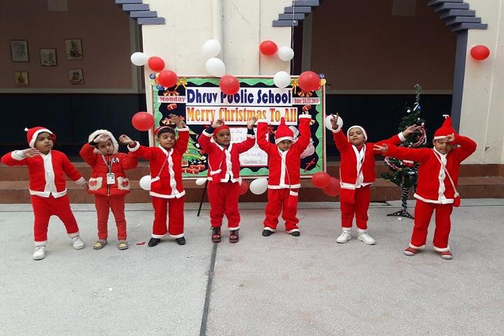 Dhruv Public School-Christmas Celebrations