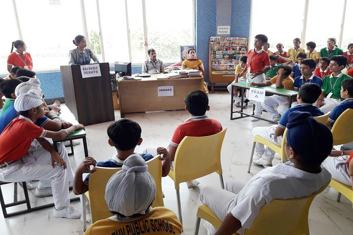 Dhruv Public School-Debate