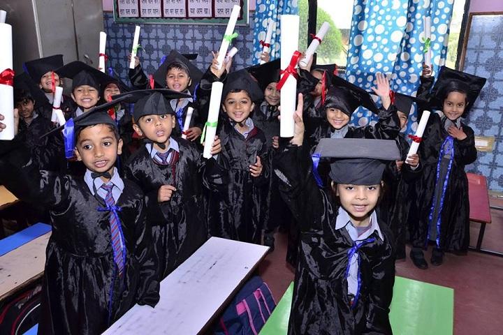 Dhruv Public School-Graduation day