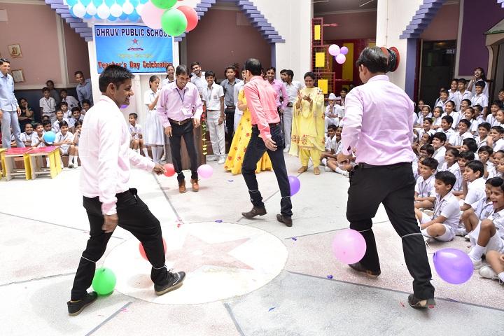 Dhruv Public School-Teachers Day Celebrations