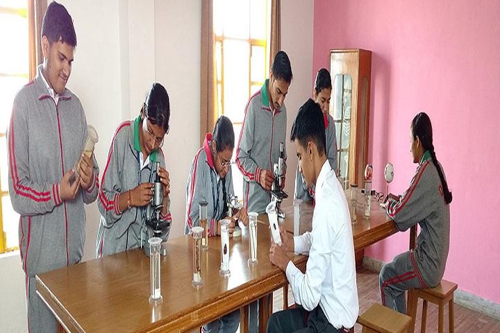 Dig Vijay Memorial School-Science Lab