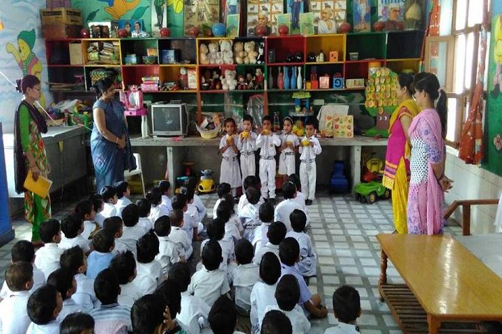 Dina Nath Memorial Convent School-Activity room