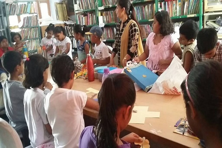 Dina Nath Memorial Convent School-Library