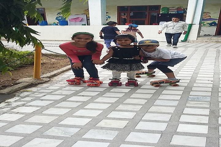 Dina Nath Memorial Convent School-Skating