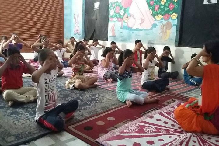 Dina Nath Memorial Convent School-Yoga