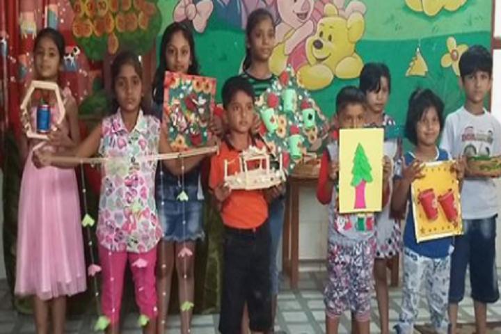Dina Nath Memorial Convent School-Art and Craft