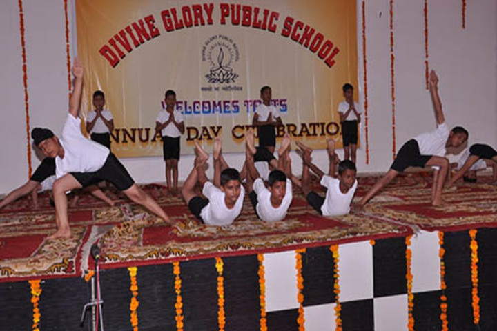 Divine Glory Public School-Yoga day